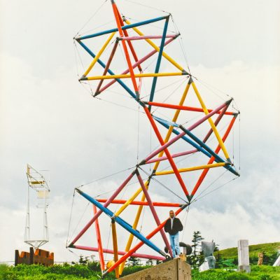 Tensegrity large scale sculptures